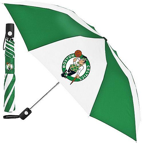 "WinCraft Boston Celtics 42"" Folding Umbrella"