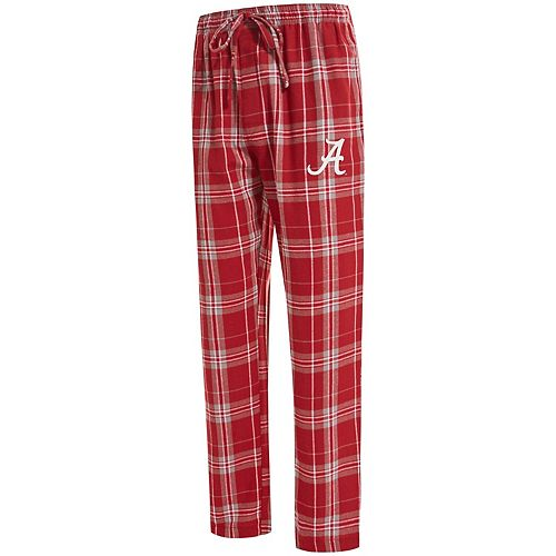 Men's Concepts Sport Crimson Alabama Crimson Tide Big & Tall Hillstone Flannel Pants