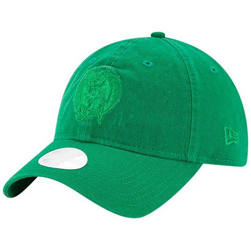 Women's New Era Kelly Green Boston Celtics Core Classic Tonal Team 9TWENTY Adjustable Hat