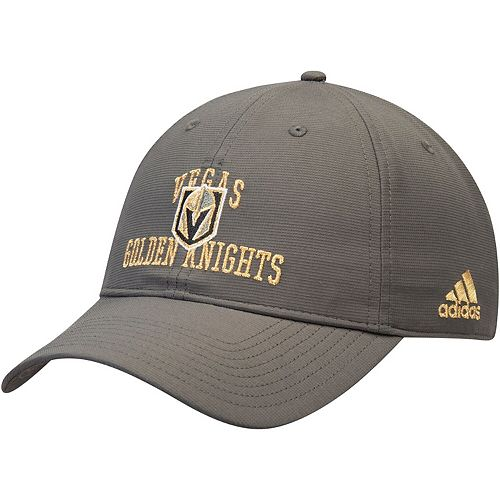 Men's adidas Gray Vegas Golden Knights Coaches Team Color Adjustable Hat