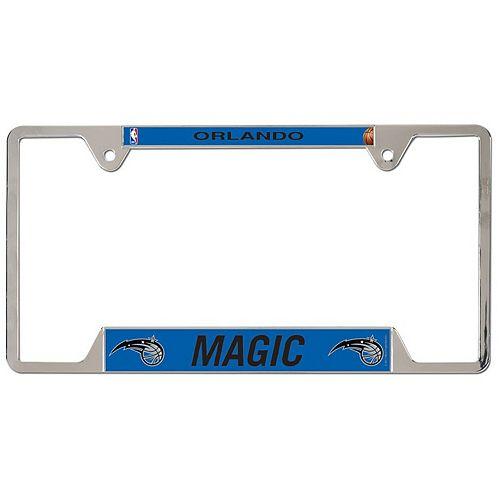WinCraft Orlando Magic Primary Logo Metal License Plate Frame
