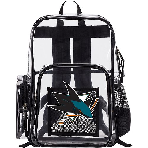 The Northwest Company San Jose Sharks Dimension Clear Backpack