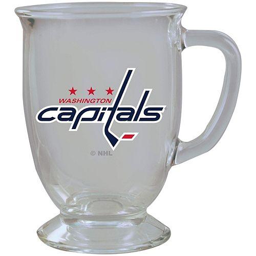 Washington Capitals 16oz. Kona Glass Mug