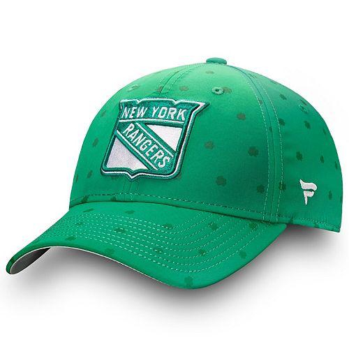 Men's Fanatics Branded Green New York Rangers St. Patrick's Day Speed Flex Hat