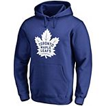 Men's Fanatics Branded Blue Toronto Maple Leafs Primary Logo Pullover Hoodie