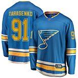 Men's Fanatics Branded Vladimir Tarasenko Blue St. Louis Blues Alternate Breakaway Player Jersey