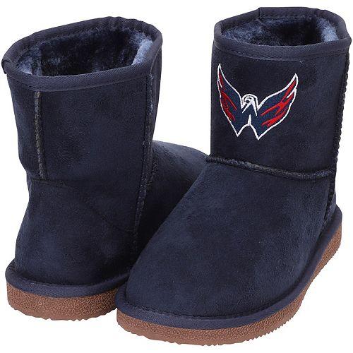 Women's Cuce Navy Washington Capitals The Rookie Mini Boots