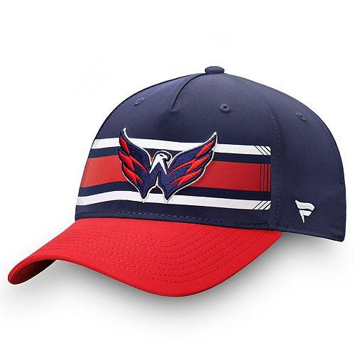 Men's Fanatics Branded Navy/Red Washington Capitals Iconic Alpha Adjustable Hat