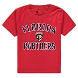 Toddler Fanatics Branded Red Florida Panthers Team Victory Arch T-Shirt