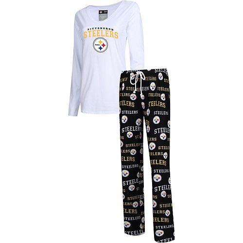 Concepts Sport Pittsburgh Steelers Duo Sleep Set