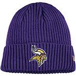 Youth New Era Purple Minnesota Vikings Core Classic Cuffed Knit Hat