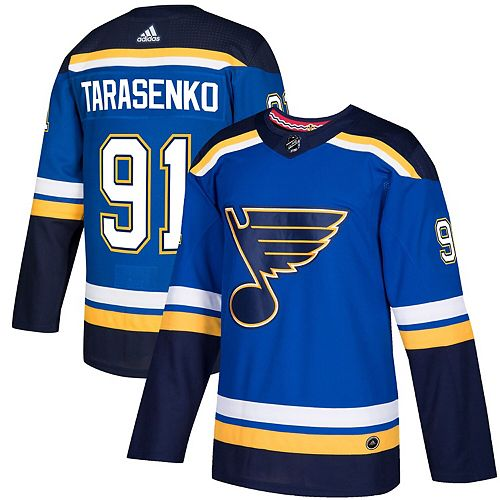 Men's adidas Vladimir Tarasenko Royal St. Louis Blues Authentic Player Jersey