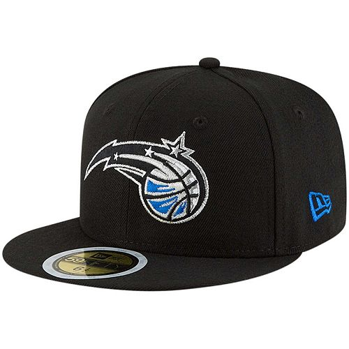 Youth New Era Black Orlando Magic Official Team Color 59FIFTY Fitted Hat