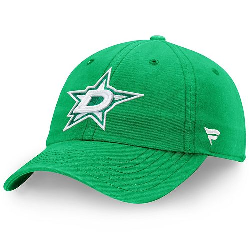 Men's Fanatics Branded Kelly Green Dallas Stars St. Patrick's Day Fundamental Adjustable Hat
