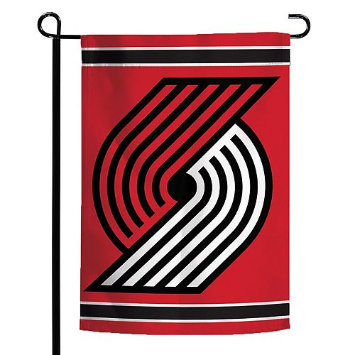 "WinCraft Portland Trail Blazers 12"" x 18"" Double-Sided Logo Garden Flag"