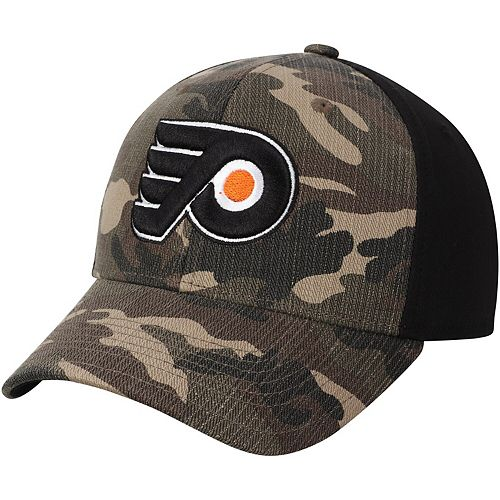 Men's adidas Camo/Black Philadelphia Flyers Adjustable Hat