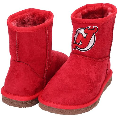 Women's Cuce Red New Jersey Devils The Rookie Mini Boots