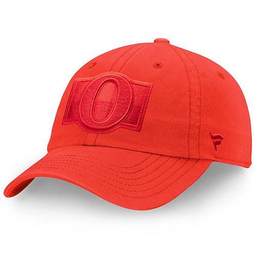 Women's Fanatics Branded Red Ottawa Senators Color Hue Fundamental Adjustable Hat