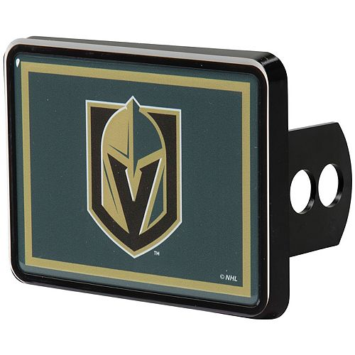 Vegas Golden Knights Universal Rectangle Hitch Cover