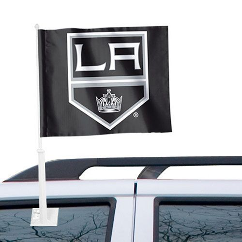 """Los Angeles Kings WinCraft 11"""" x 13"""" Two-Sided Car Flag"""