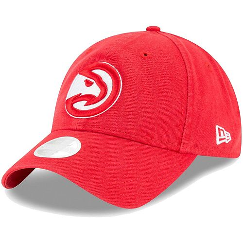 Women's New Era Red Atlanta Hawks Core Classic 9TWENTY Adjustable Hat