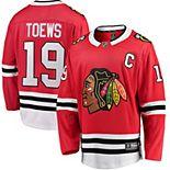 Men's Fanatics Branded Jonathan Toews Red Chicago Blackhawks Breakaway Player Jersey