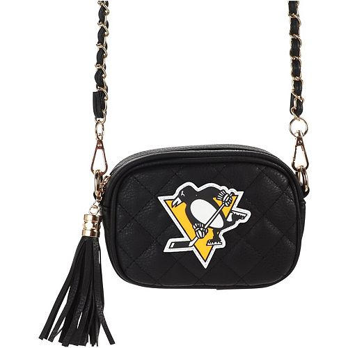 Women's Cuce Pittsburgh Penguins Safety Stadium Compliant Crossbody
