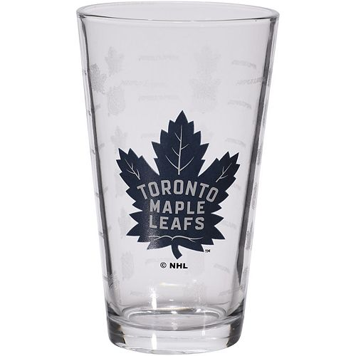 Toronto Maple Leafs 16oz. Sandblasted Mixing Glass