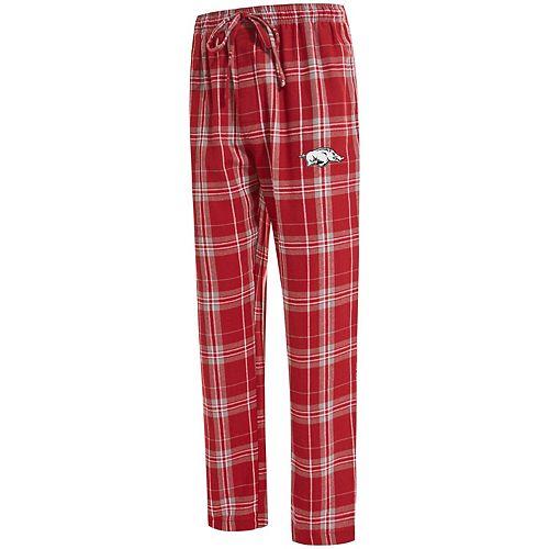 Men's Concepts Sport Cardinal Arkansas Razorbacks Big & Tall Hillstone Flannel Pants