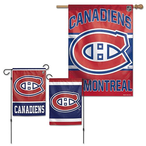 WinCraft Montreal Canadiens House Flag and Garden Flag Pack