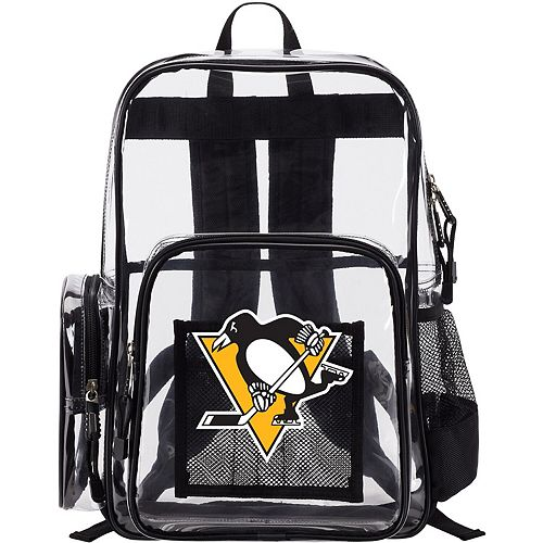 The Northwest Company Pittsburgh Penguins Dimension Clear Backpack