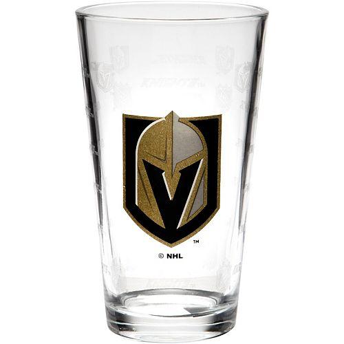 Vegas Golden Knights 16oz. Sandblasted Mixing Glass