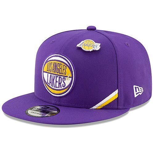 Men's New Era Purple Los Angeles Lakers 2019 NBA Draft 9FIFTY Snapback Adjustable Hat