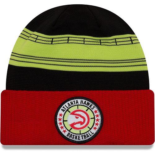 Men's New Era Red Atlanta Hawks 2018 Tip Off Series Cuffed Knit Hat