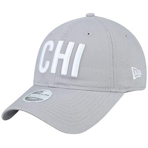 Women's New Era Gray Chicago Bears Team Hometown 9TWENTY Adjustable Hat