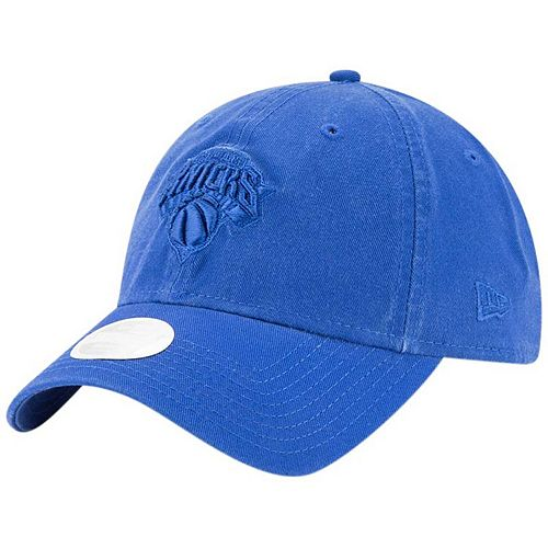 Women's New Era Blue New York Knicks Core Classic Tonal Team 9TWENTY Adjustable Hat