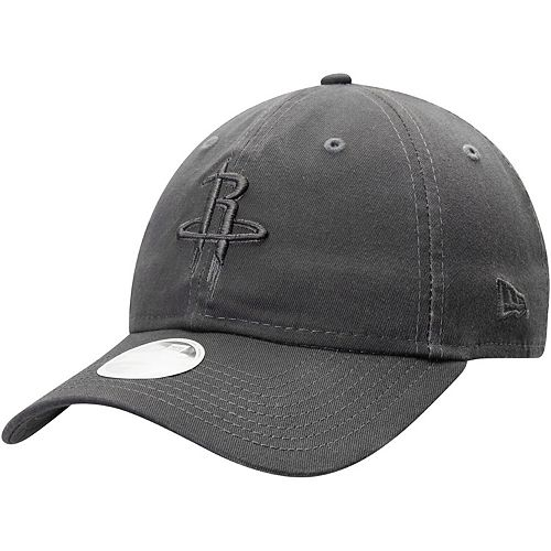 Women's New Era Graphite Houston Rockets Tonal Core Classic 9TWENTY Adjustable Hat
