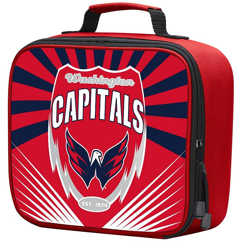 The Northwest Company Washington Capitals Lightning Lunch Kit, Red