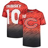 Youth Mitchell Trubisky Orange Chicago Bears Propulsion Sublimated Name & Number T-Shirt