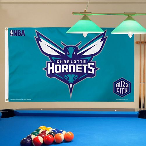 WinCraft Charlotte Hornets 3' x 5' Deluxe Flag