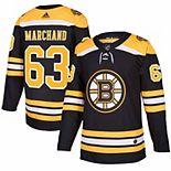 Men's adidas Brad Marchand Black Boston Bruins Authentic Player Jersey