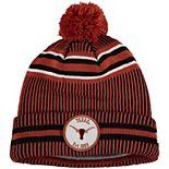Men's New Era Texas Orange Texas Longhorns On Field Sport Cuffed Knit Hat