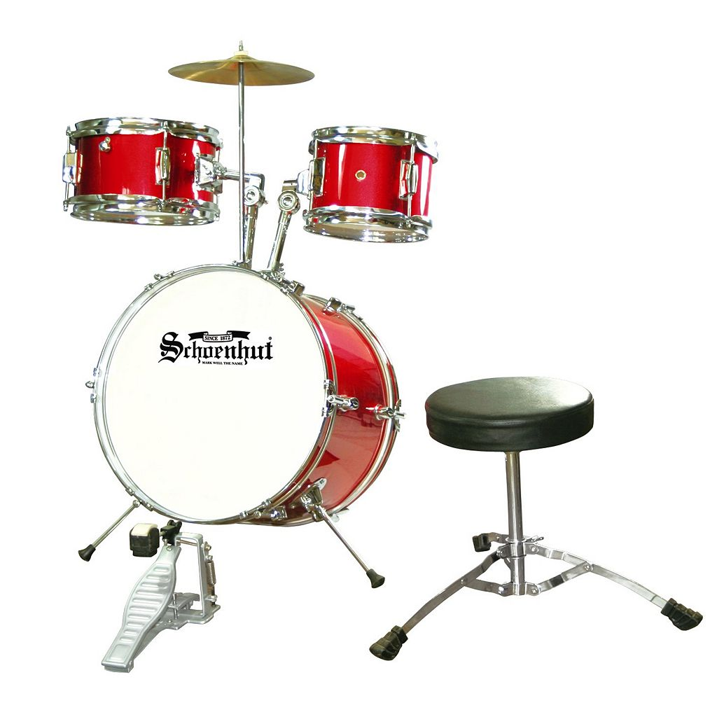 Schoenhut Junior Drum Set
