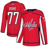 Men's adidas TJ Oshie Red Washington Capitals Authentic Player Jersey