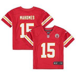 Toddler Nike Patrick Mahomes Red Kansas City Chiefs Game Jersey
