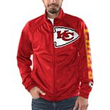 Men's G-III Sports by Carl Banks Red Kansas City Chiefs Synergy Track Full-Zip Jacket