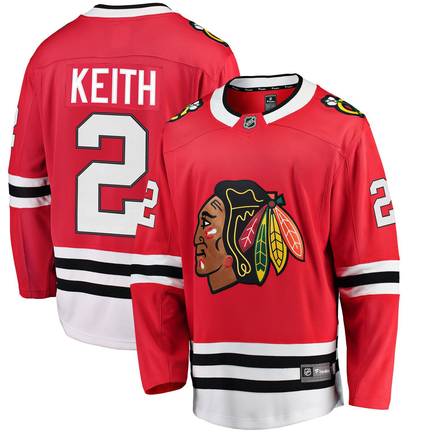 duncan keith mens jersey