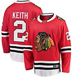 Men's Fanatics Branded Duncan Keith Red Chicago Blackhawks Breakaway Player Jersey