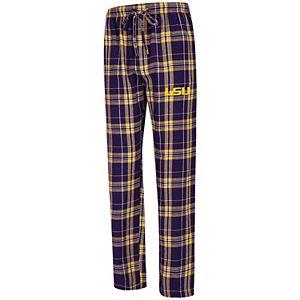 Men's Concepts Sport Purple LSU Tigers Big & Tall Hillstone Flannel Pants