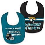 Newborn & Infant WinCraft Jacksonville Jaguars 2-Pack Bib Set